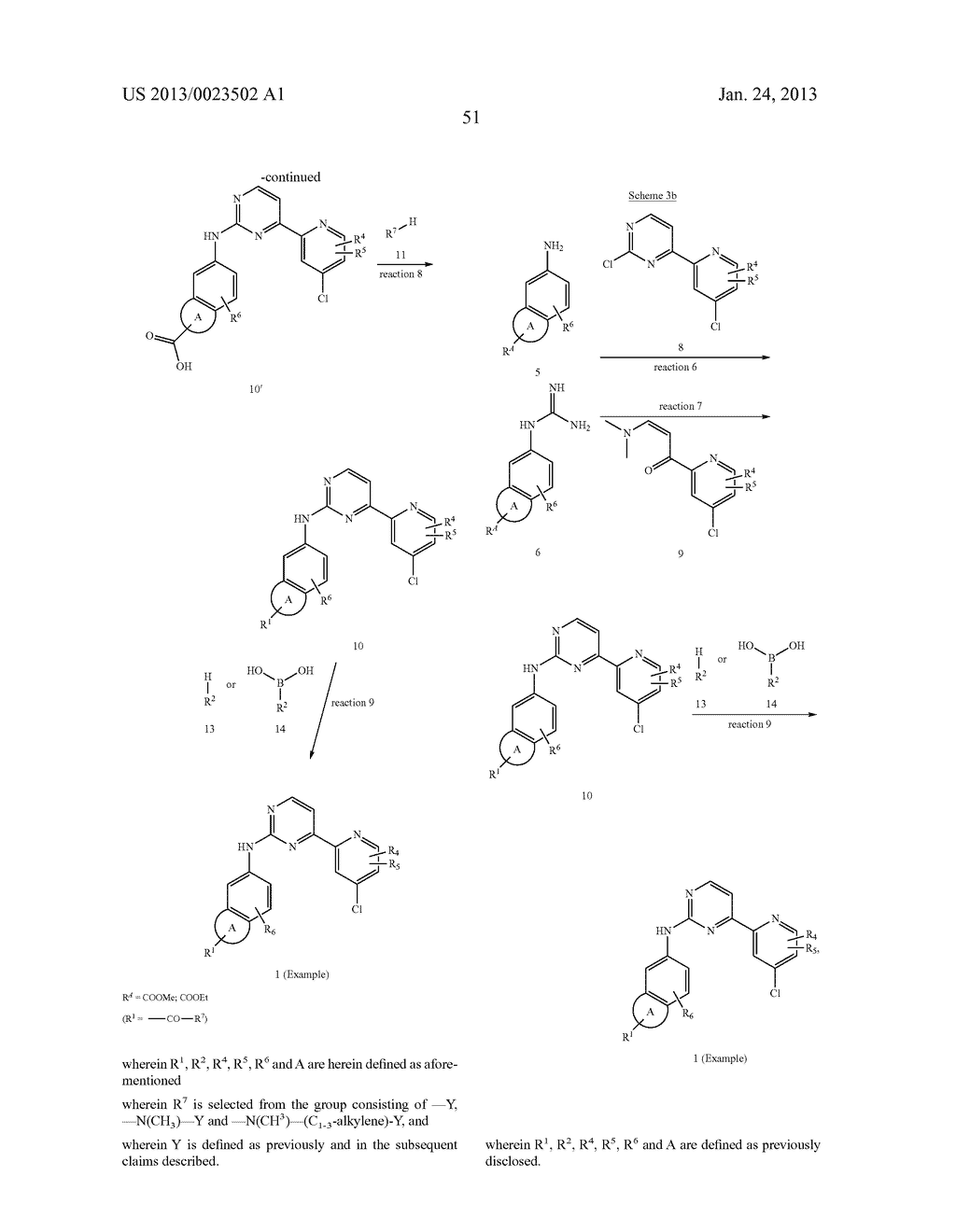 SUBSTITUTED PYRIDINYL-PYRIMIDINES AND THEIR USE AS MEDICAMENTS - diagram, schematic, and image 52