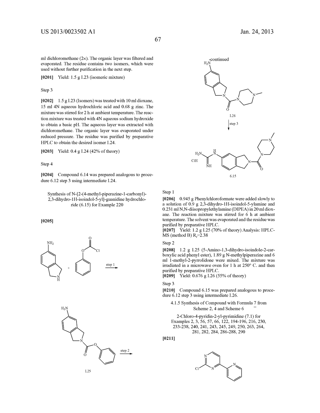 SUBSTITUTED PYRIDINYL-PYRIMIDINES AND THEIR USE AS MEDICAMENTS - diagram, schematic, and image 68