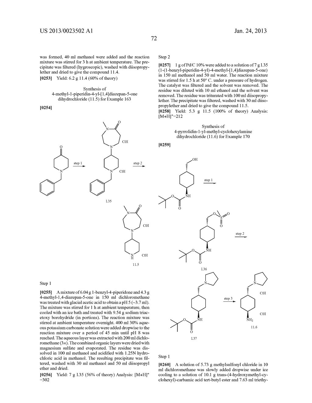SUBSTITUTED PYRIDINYL-PYRIMIDINES AND THEIR USE AS MEDICAMENTS - diagram, schematic, and image 73