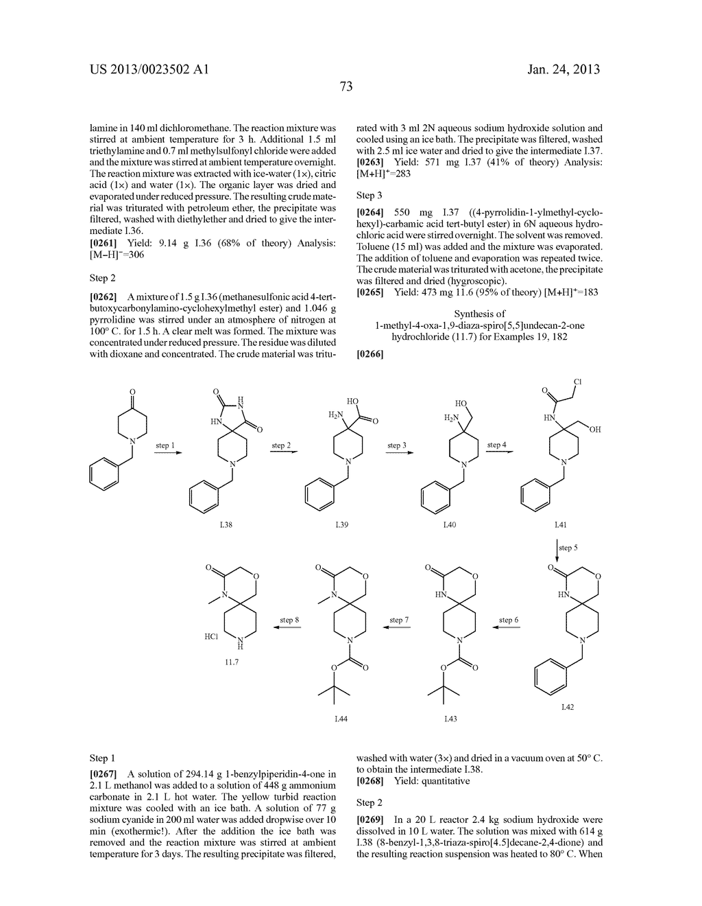 SUBSTITUTED PYRIDINYL-PYRIMIDINES AND THEIR USE AS MEDICAMENTS - diagram, schematic, and image 74