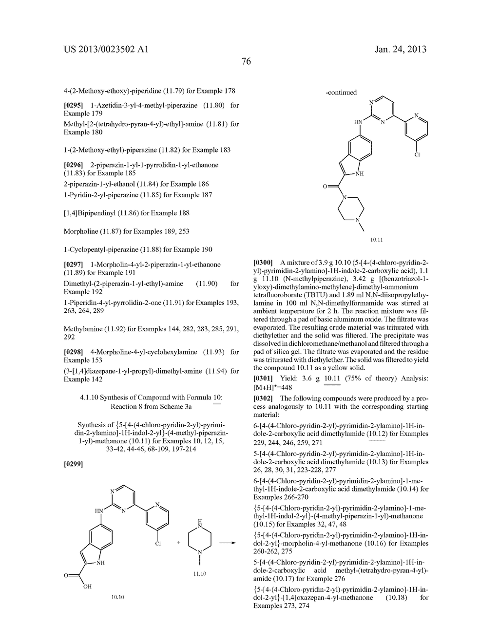 SUBSTITUTED PYRIDINYL-PYRIMIDINES AND THEIR USE AS MEDICAMENTS - diagram, schematic, and image 77