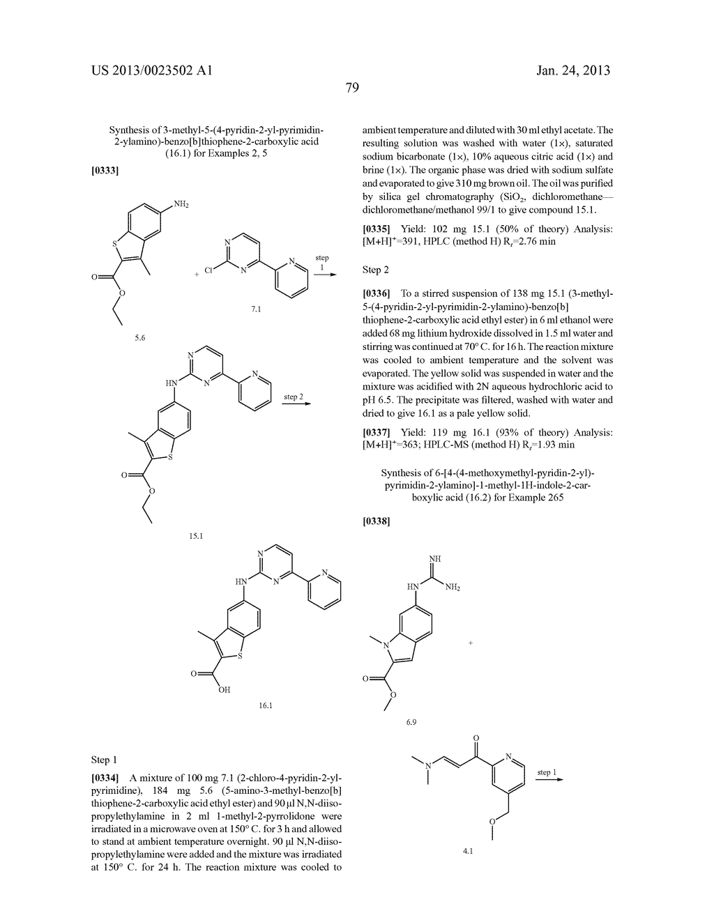 SUBSTITUTED PYRIDINYL-PYRIMIDINES AND THEIR USE AS MEDICAMENTS - diagram, schematic, and image 80