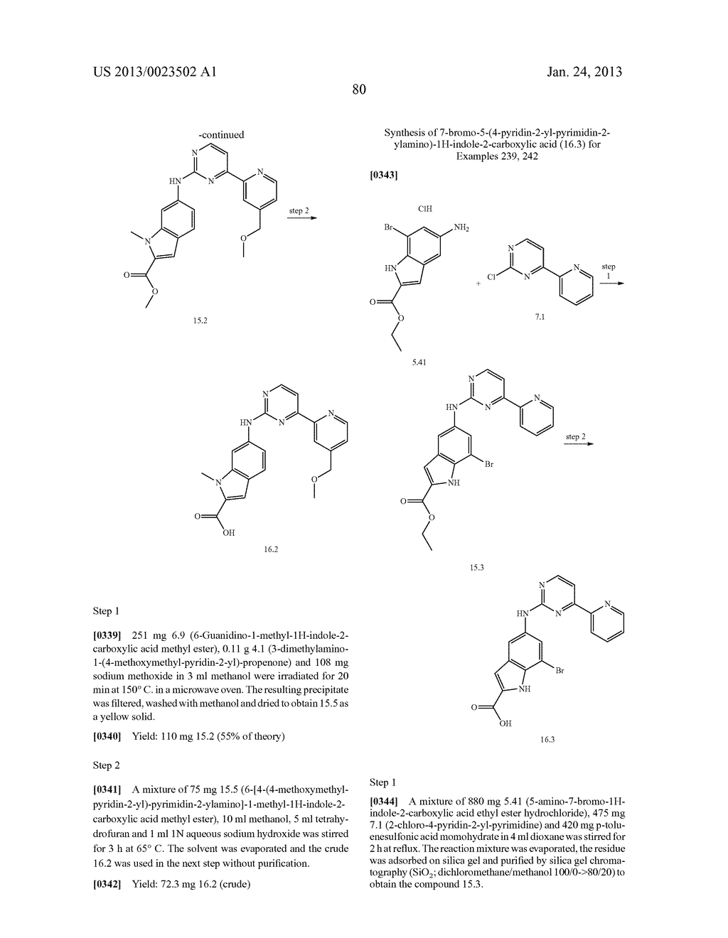 SUBSTITUTED PYRIDINYL-PYRIMIDINES AND THEIR USE AS MEDICAMENTS - diagram, schematic, and image 81