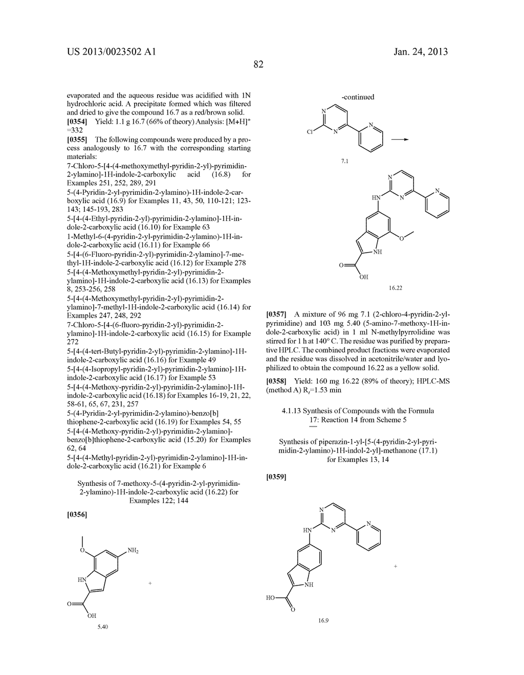 SUBSTITUTED PYRIDINYL-PYRIMIDINES AND THEIR USE AS MEDICAMENTS - diagram, schematic, and image 83