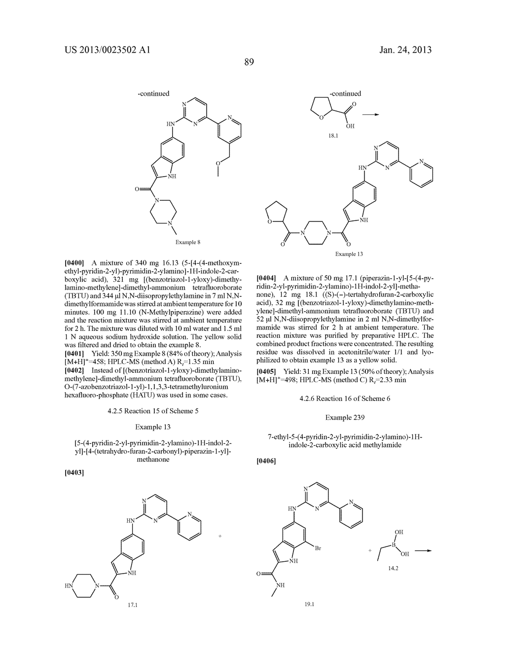 SUBSTITUTED PYRIDINYL-PYRIMIDINES AND THEIR USE AS MEDICAMENTS - diagram, schematic, and image 90