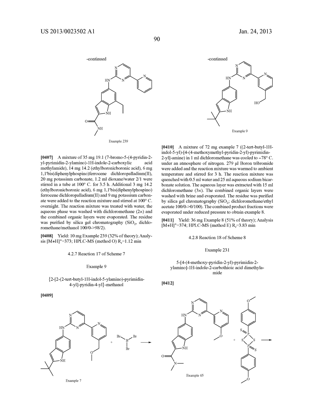 SUBSTITUTED PYRIDINYL-PYRIMIDINES AND THEIR USE AS MEDICAMENTS - diagram, schematic, and image 91