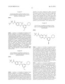 NOVEL 3,3-DIMETHYL TETRAHYDROQUINOLINE DERIVATIVES diagram and image