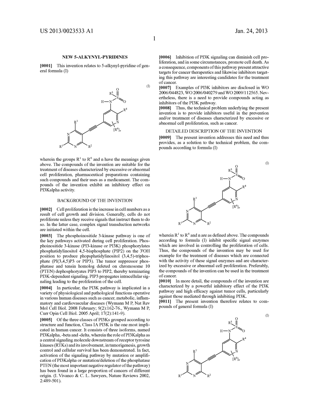 NEW 5-ALKYNYL-PYRIDINES - diagram, schematic, and image 02