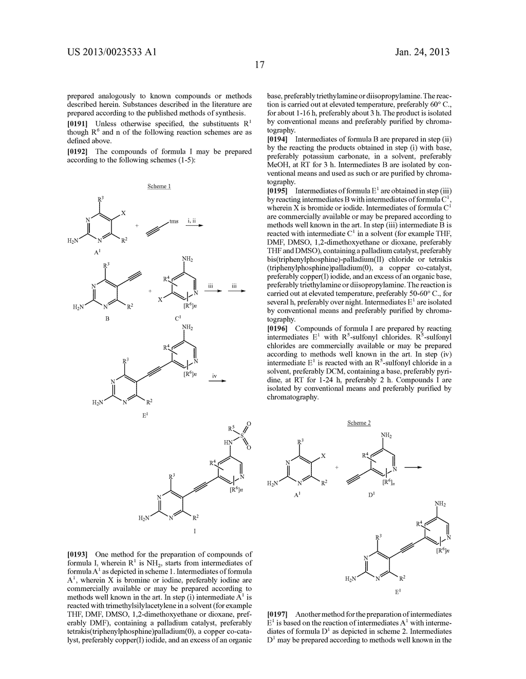 NEW 5-ALKYNYL-PYRIDINES - diagram, schematic, and image 18