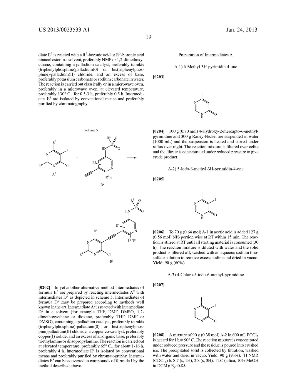 NEW 5-ALKYNYL-PYRIDINES - diagram, schematic, and image 20