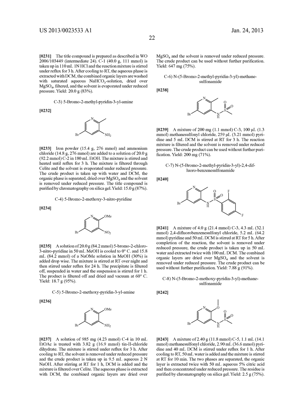 NEW 5-ALKYNYL-PYRIDINES - diagram, schematic, and image 23