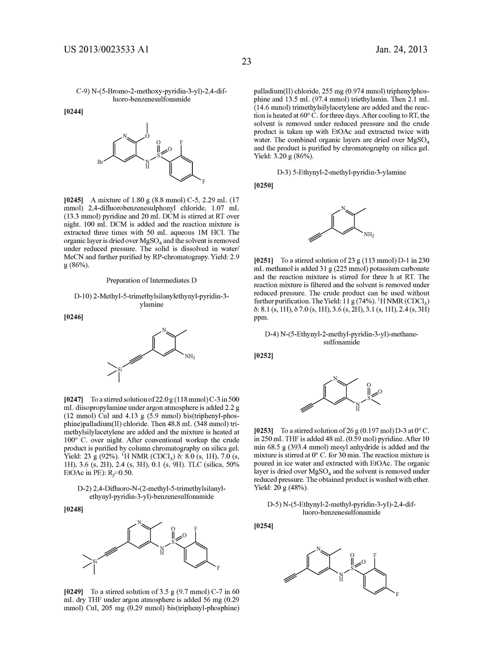 NEW 5-ALKYNYL-PYRIDINES - diagram, schematic, and image 24