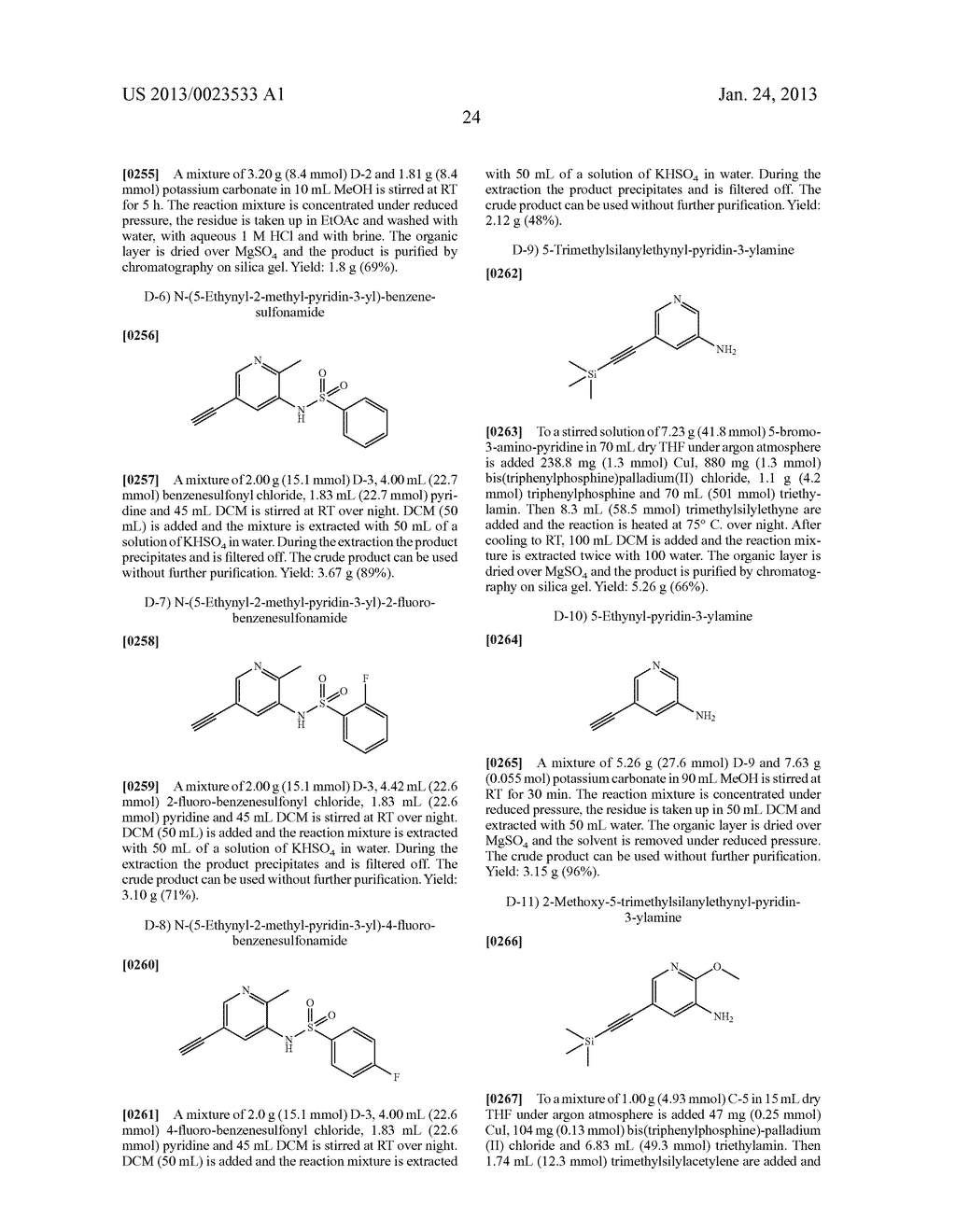 NEW 5-ALKYNYL-PYRIDINES - diagram, schematic, and image 25