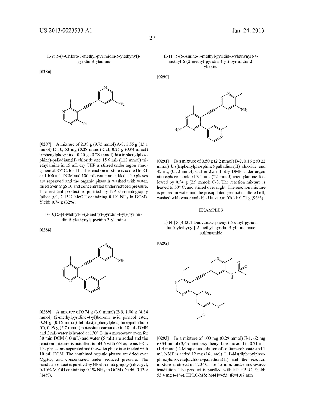 NEW 5-ALKYNYL-PYRIDINES - diagram, schematic, and image 28