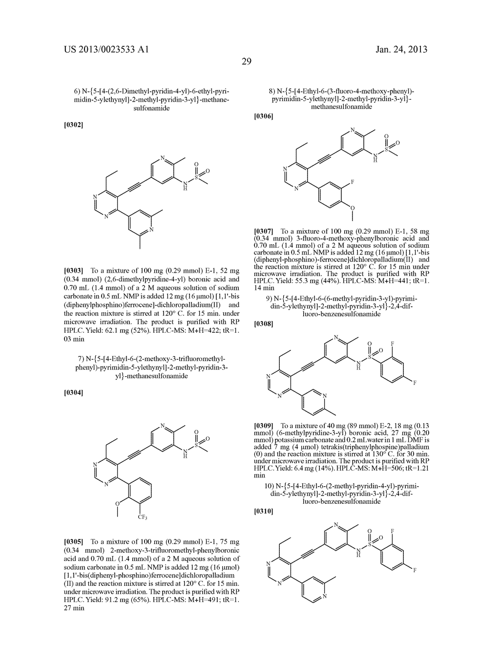 NEW 5-ALKYNYL-PYRIDINES - diagram, schematic, and image 30