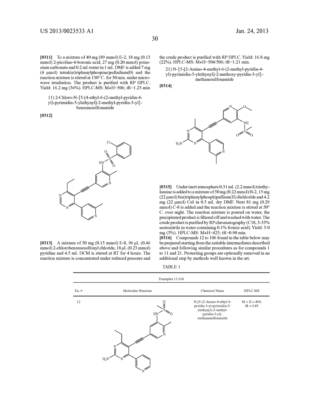 NEW 5-ALKYNYL-PYRIDINES - diagram, schematic, and image 31