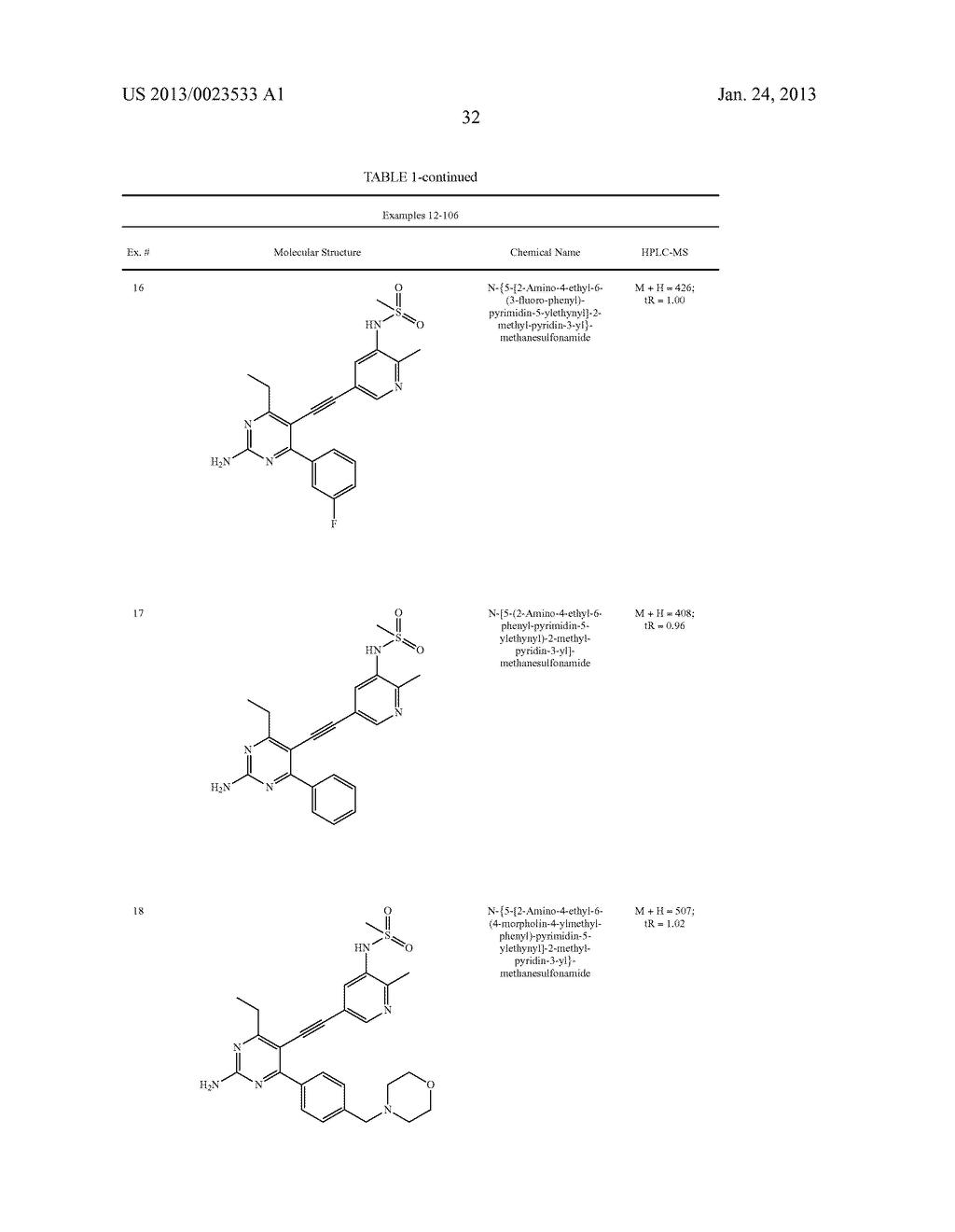 NEW 5-ALKYNYL-PYRIDINES - diagram, schematic, and image 33