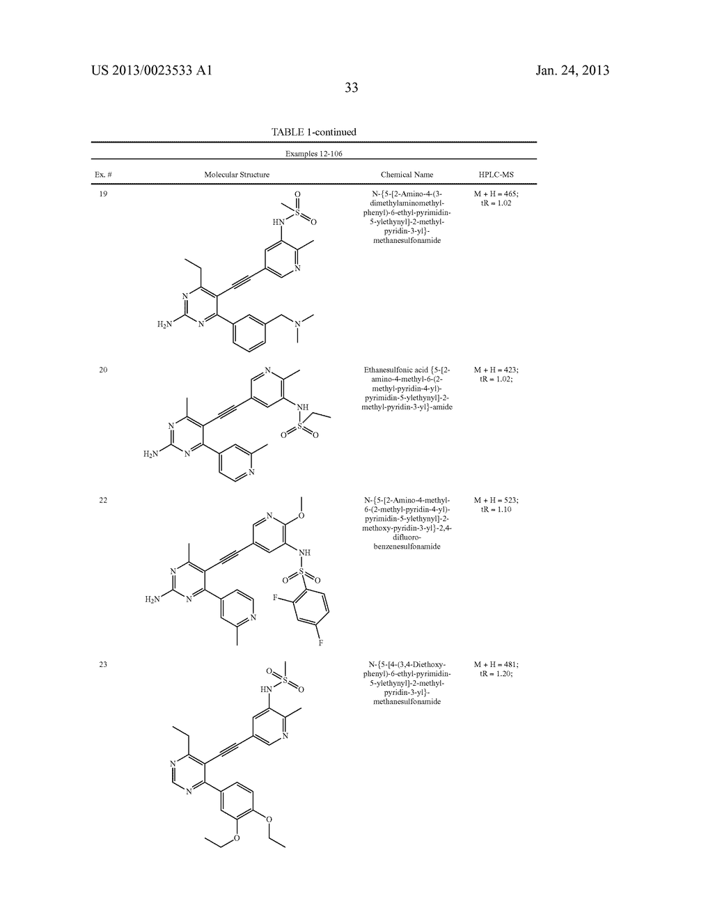 NEW 5-ALKYNYL-PYRIDINES - diagram, schematic, and image 34