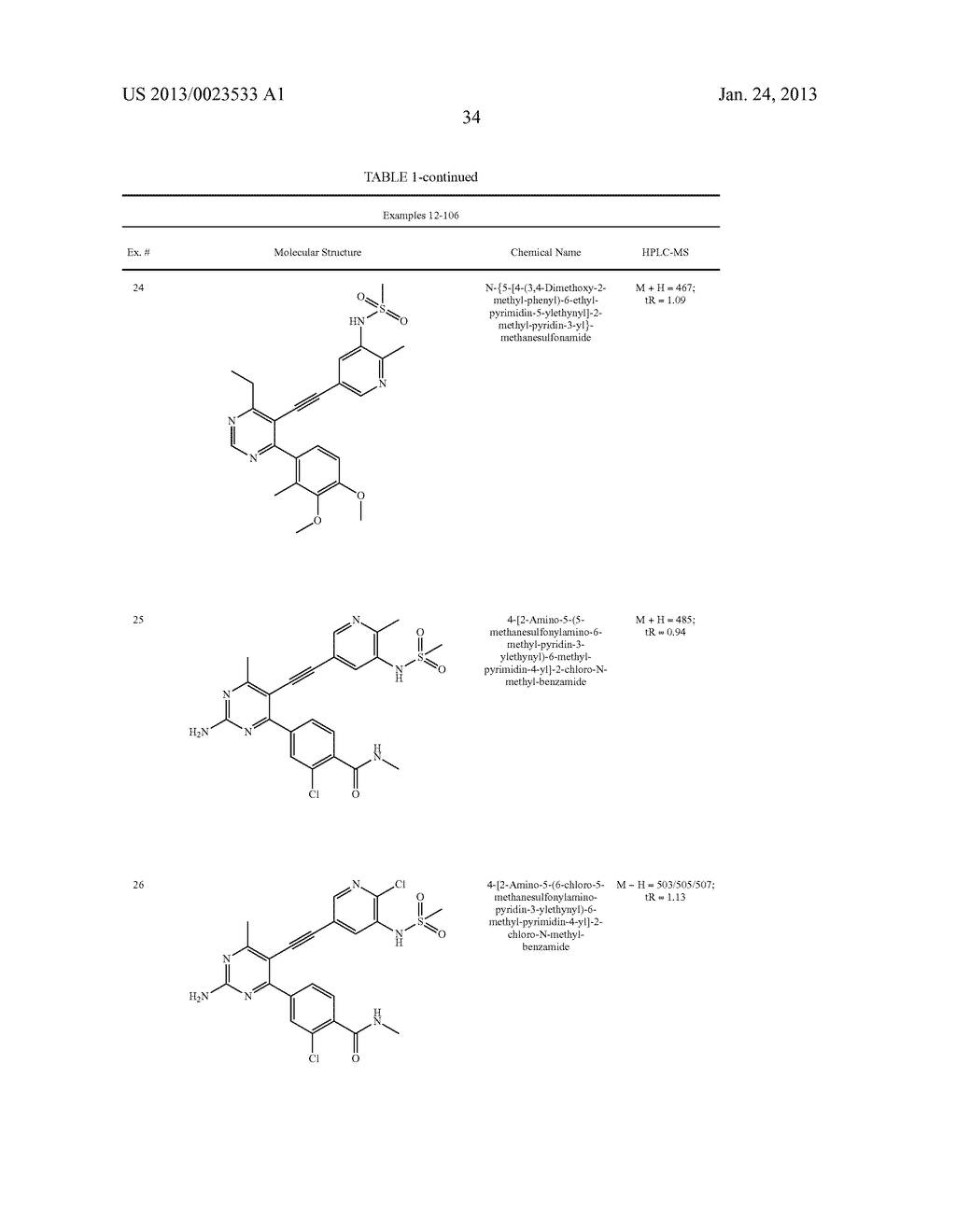 NEW 5-ALKYNYL-PYRIDINES - diagram, schematic, and image 35