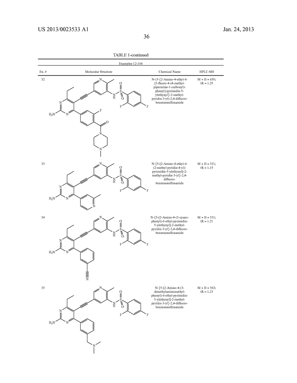 NEW 5-ALKYNYL-PYRIDINES - diagram, schematic, and image 37