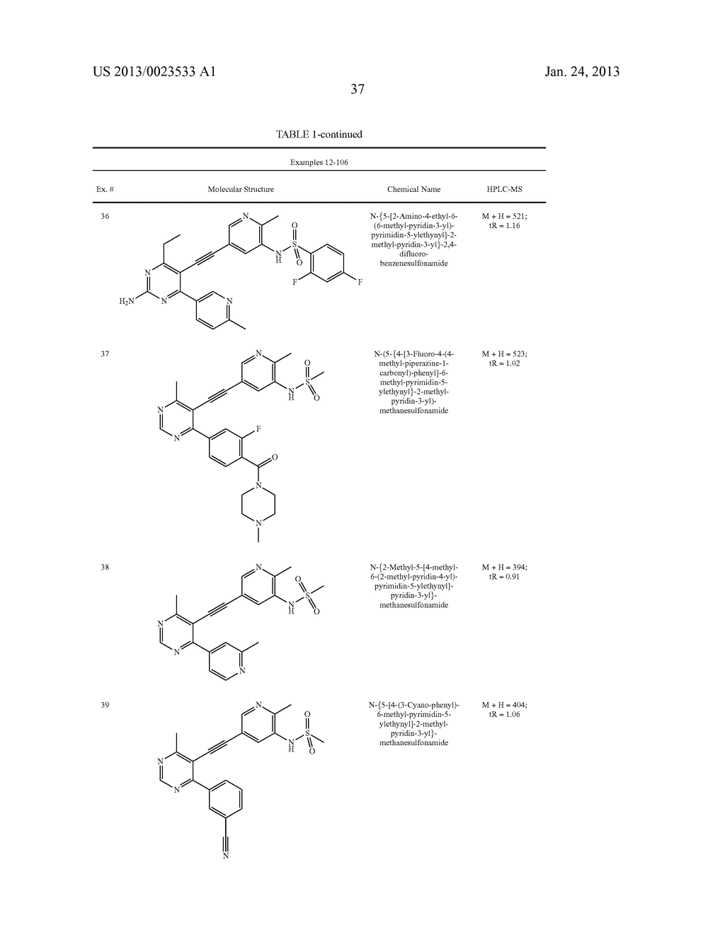 NEW 5-ALKYNYL-PYRIDINES - diagram, schematic, and image 38