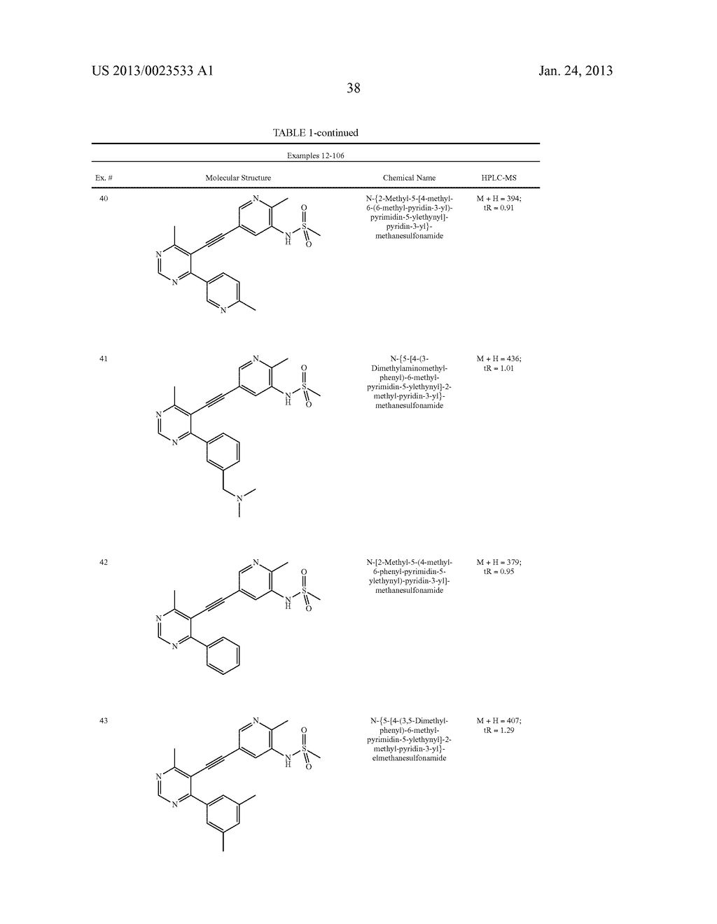 NEW 5-ALKYNYL-PYRIDINES - diagram, schematic, and image 39