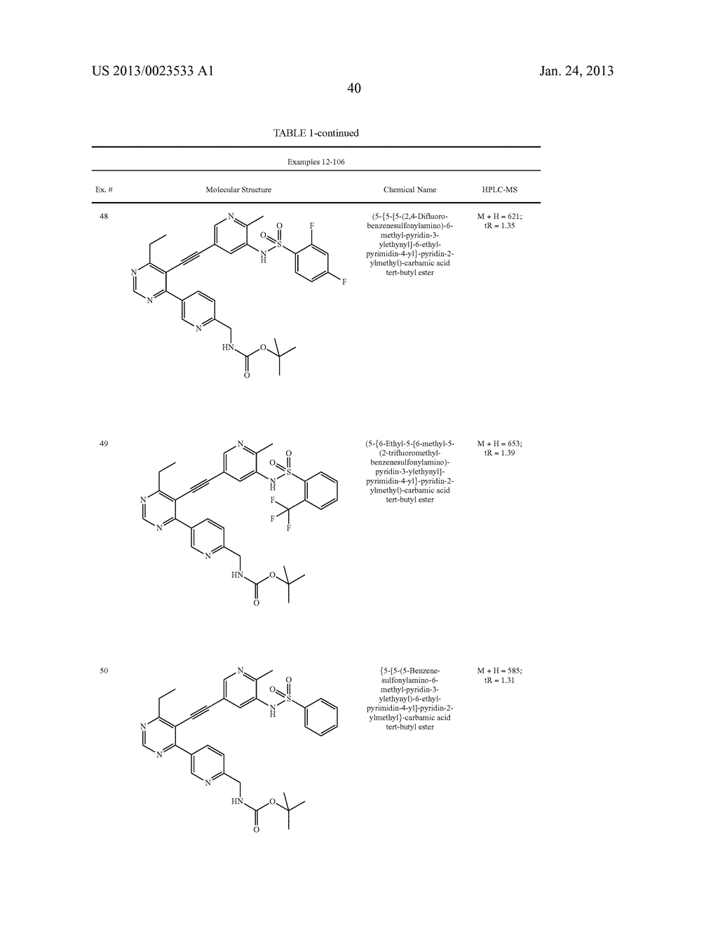 NEW 5-ALKYNYL-PYRIDINES - diagram, schematic, and image 41