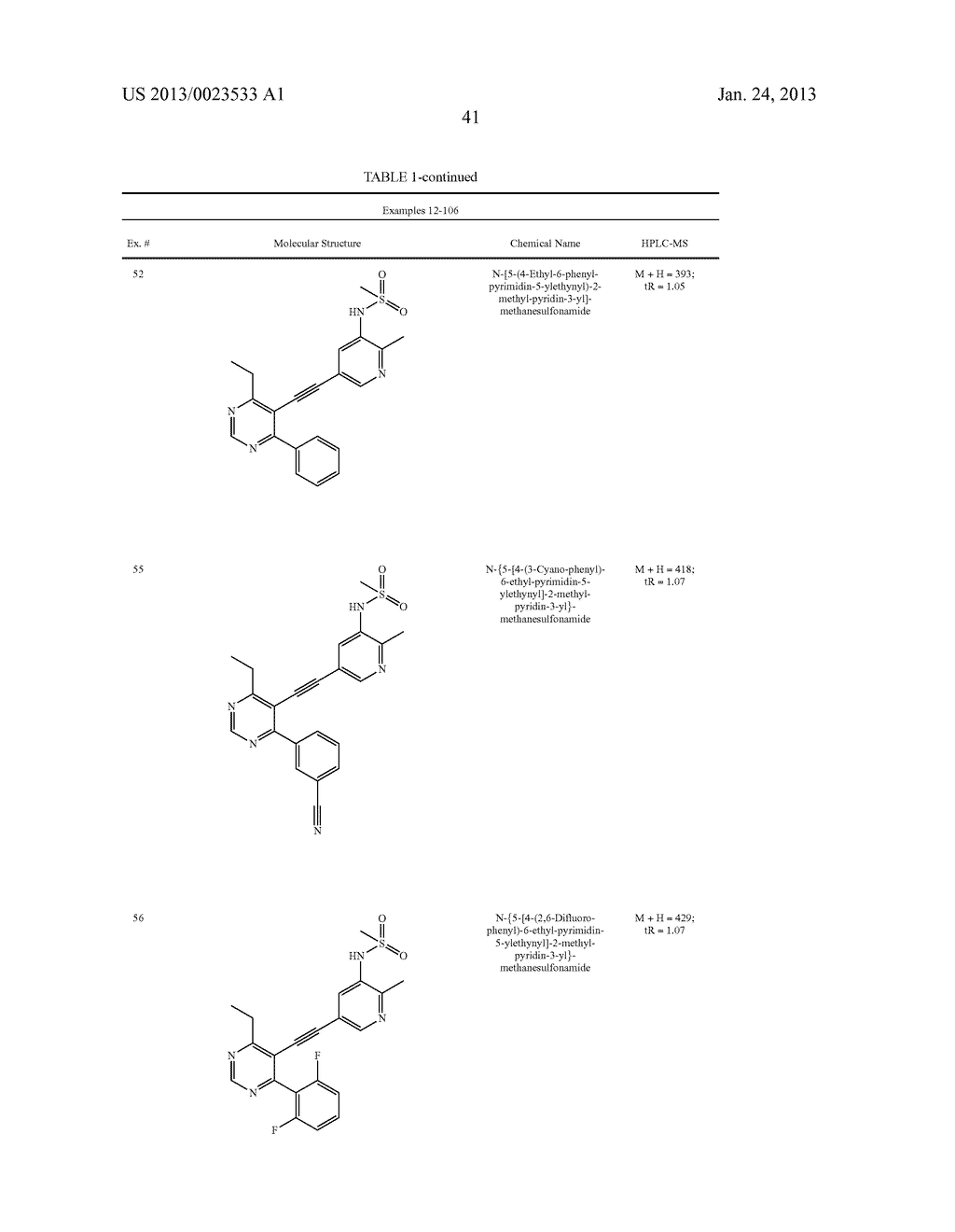 NEW 5-ALKYNYL-PYRIDINES - diagram, schematic, and image 42