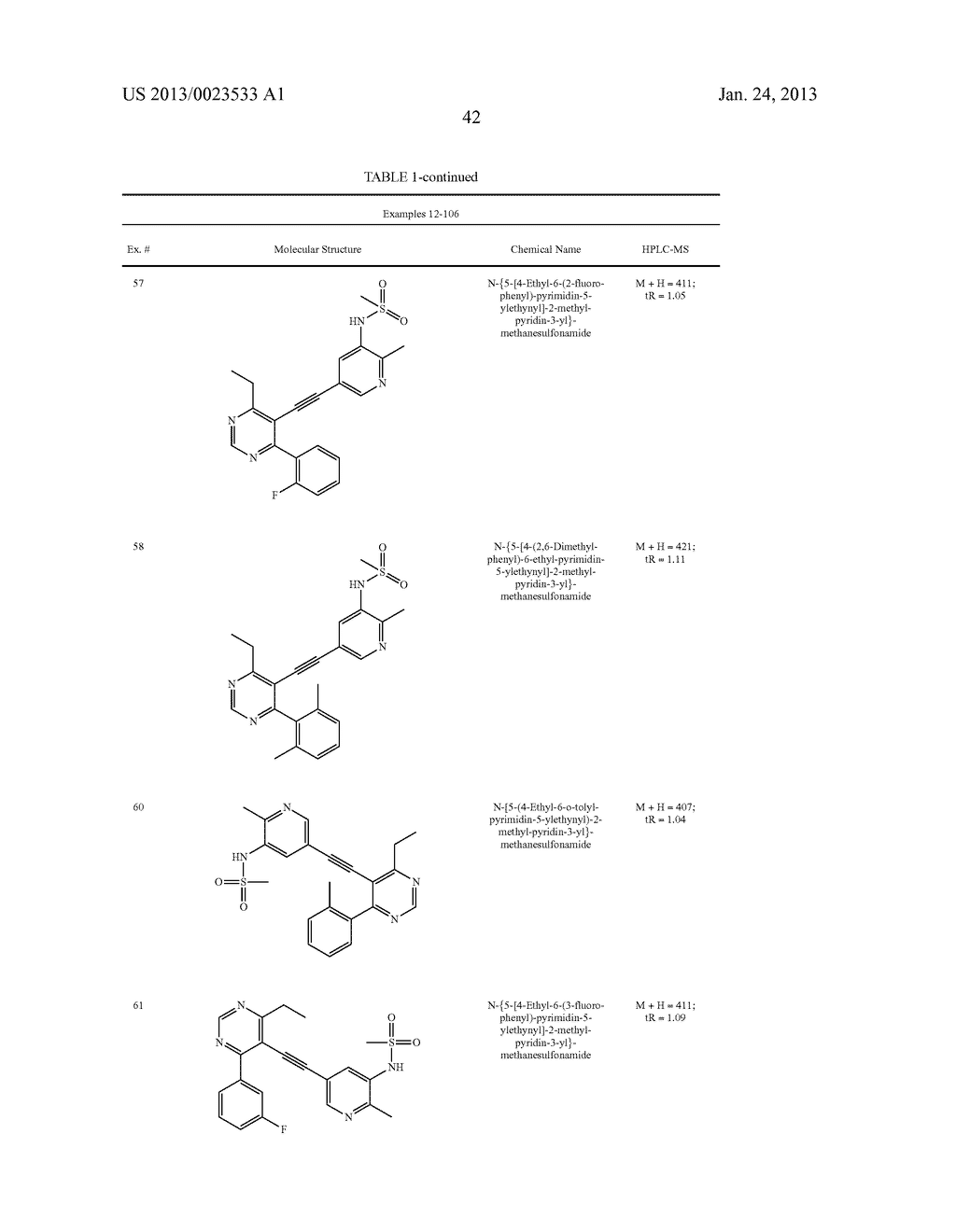 NEW 5-ALKYNYL-PYRIDINES - diagram, schematic, and image 43