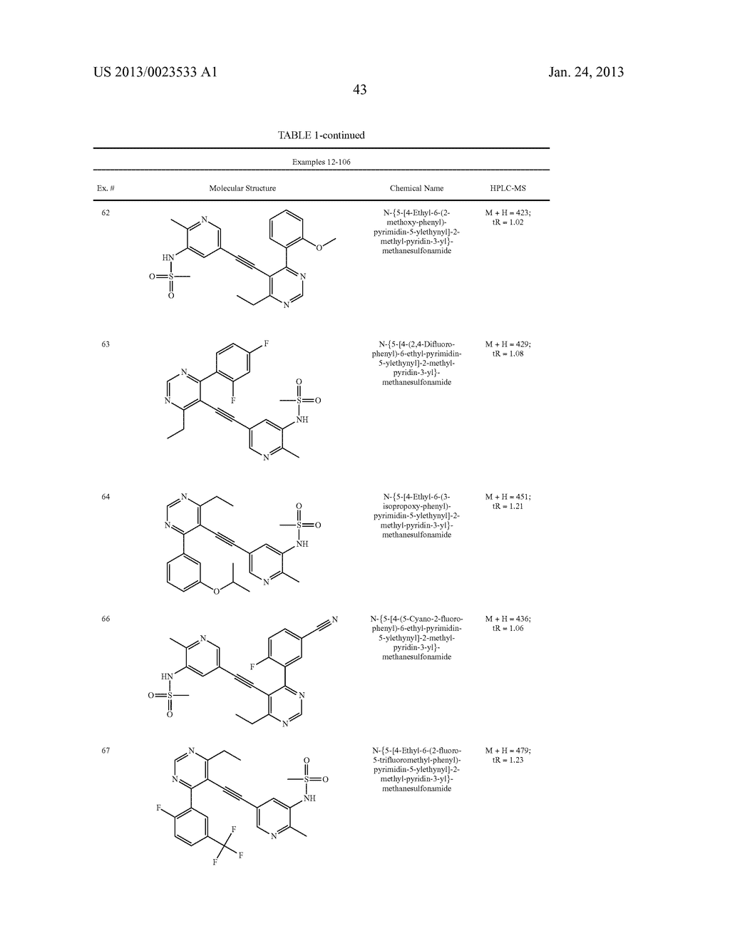 NEW 5-ALKYNYL-PYRIDINES - diagram, schematic, and image 44