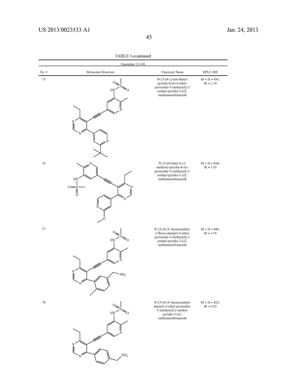 NEW 5-ALKYNYL-PYRIDINES - diagram, schematic, and image 46