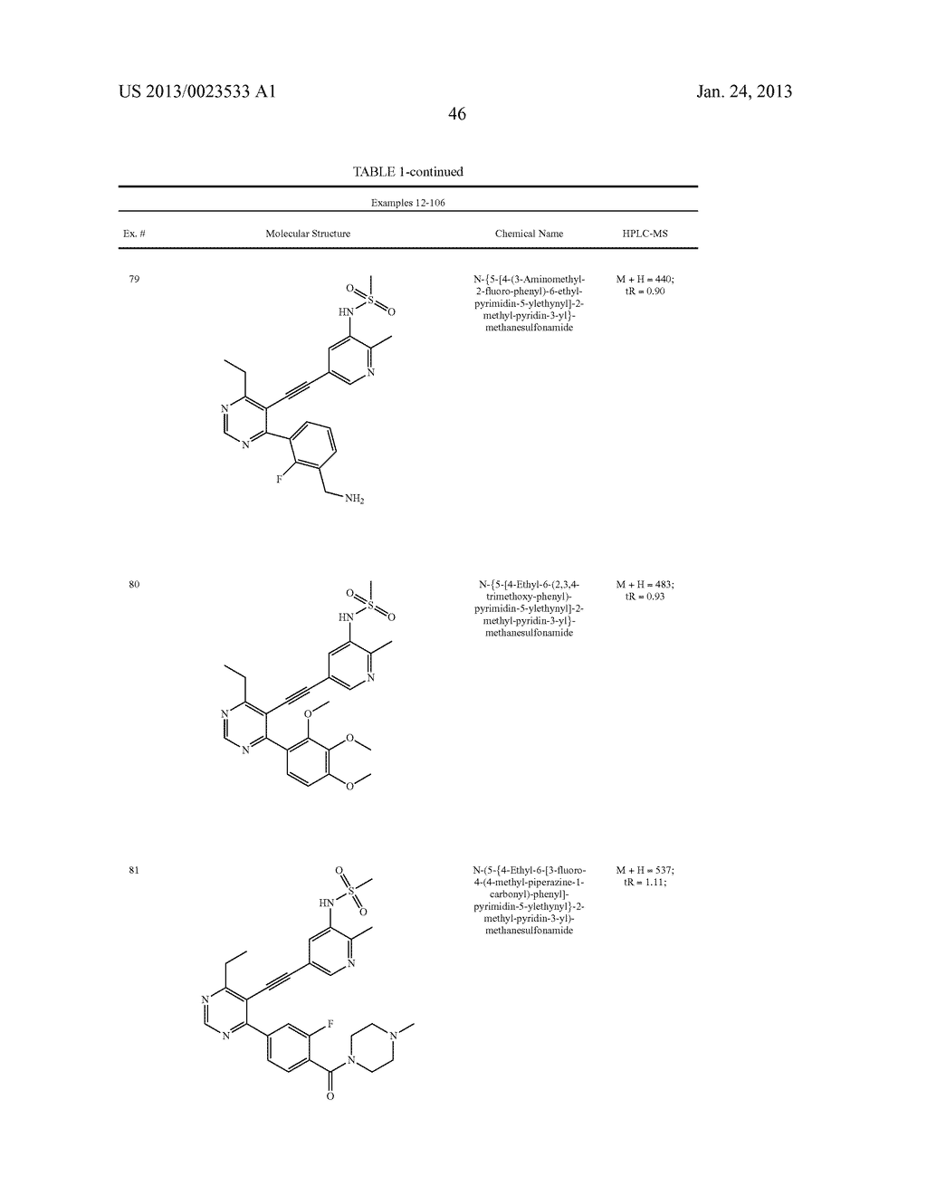 NEW 5-ALKYNYL-PYRIDINES - diagram, schematic, and image 47