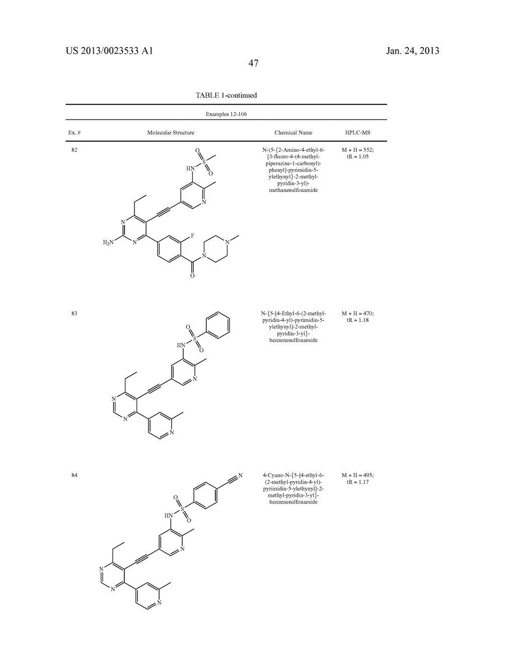 NEW 5-ALKYNYL-PYRIDINES - diagram, schematic, and image 48