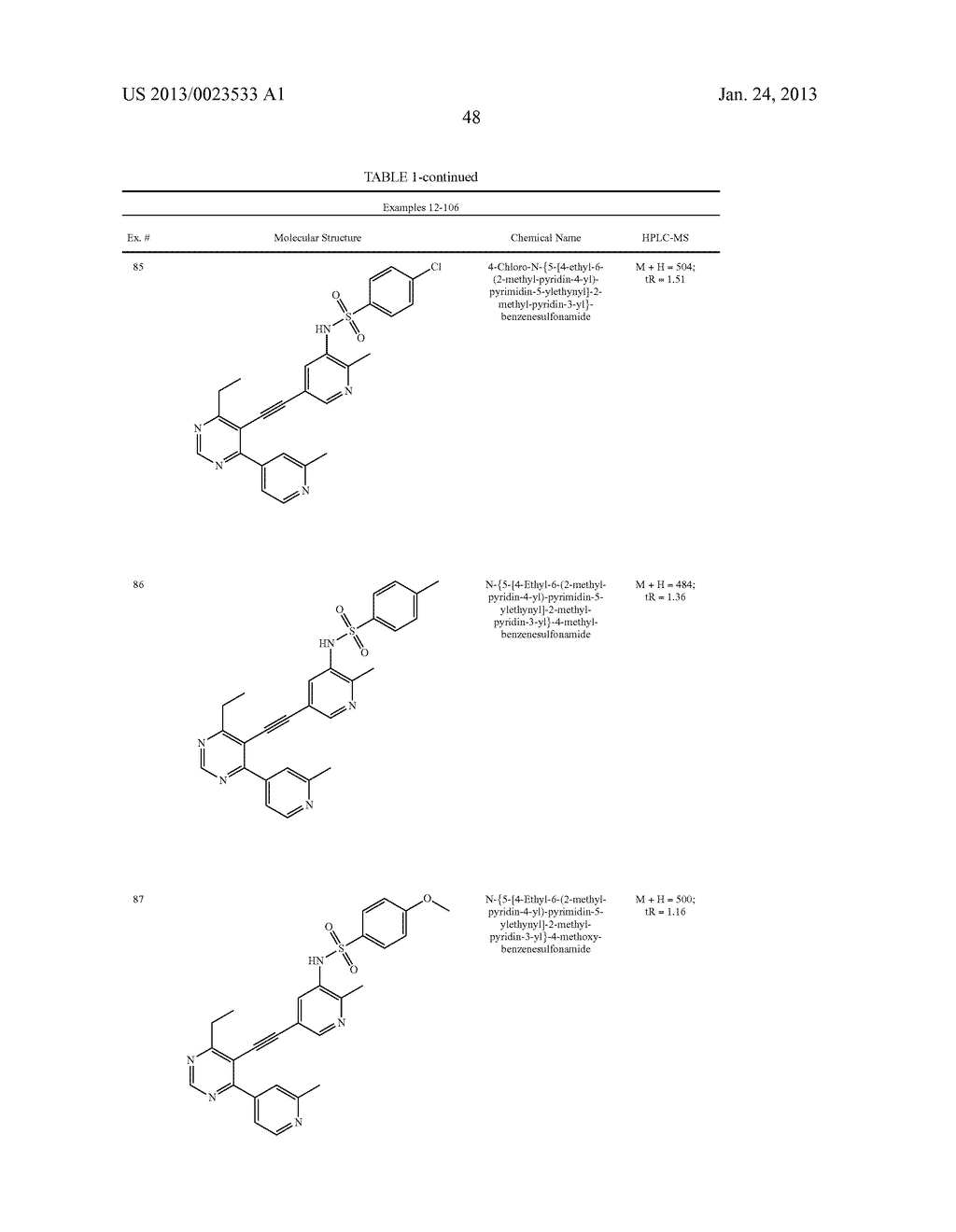 NEW 5-ALKYNYL-PYRIDINES - diagram, schematic, and image 49