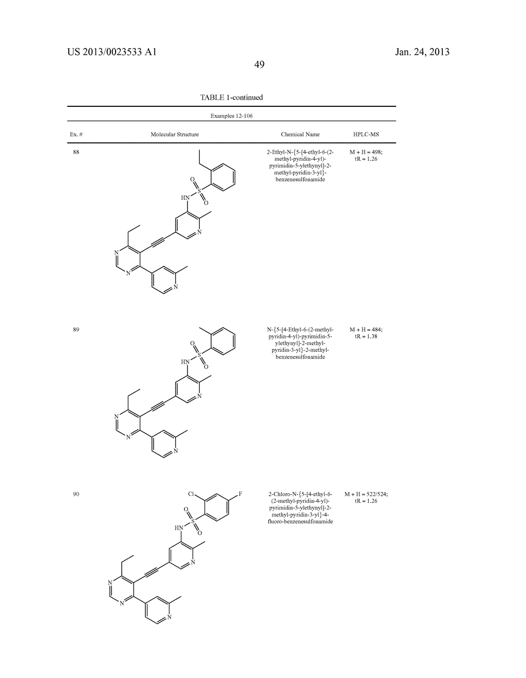 NEW 5-ALKYNYL-PYRIDINES - diagram, schematic, and image 50