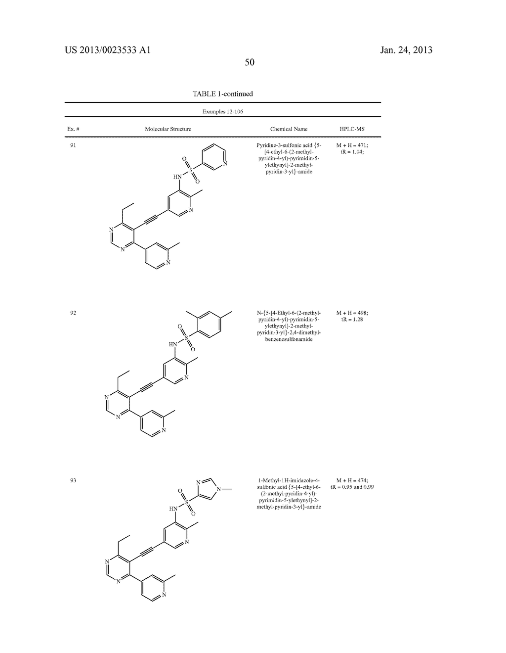 NEW 5-ALKYNYL-PYRIDINES - diagram, schematic, and image 51