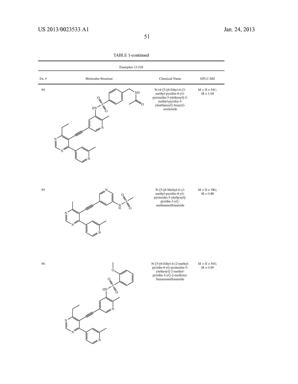 NEW 5-ALKYNYL-PYRIDINES - diagram, schematic, and image 52