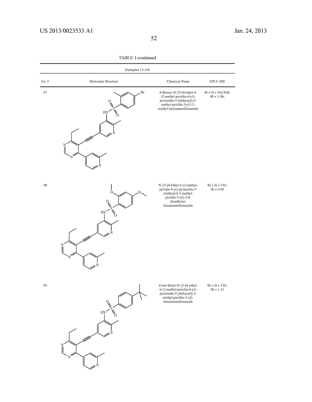 NEW 5-ALKYNYL-PYRIDINES - diagram, schematic, and image 53