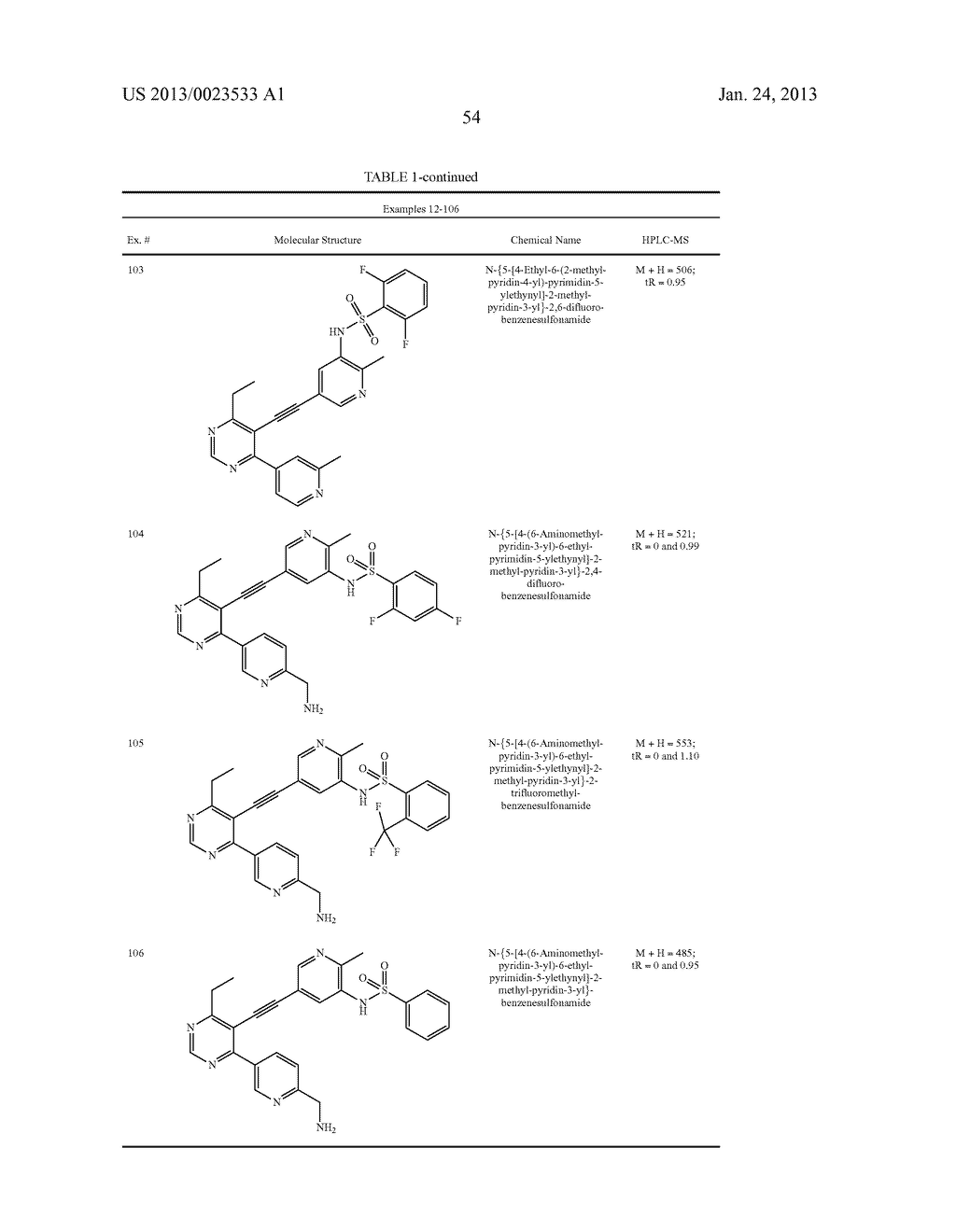 NEW 5-ALKYNYL-PYRIDINES - diagram, schematic, and image 55