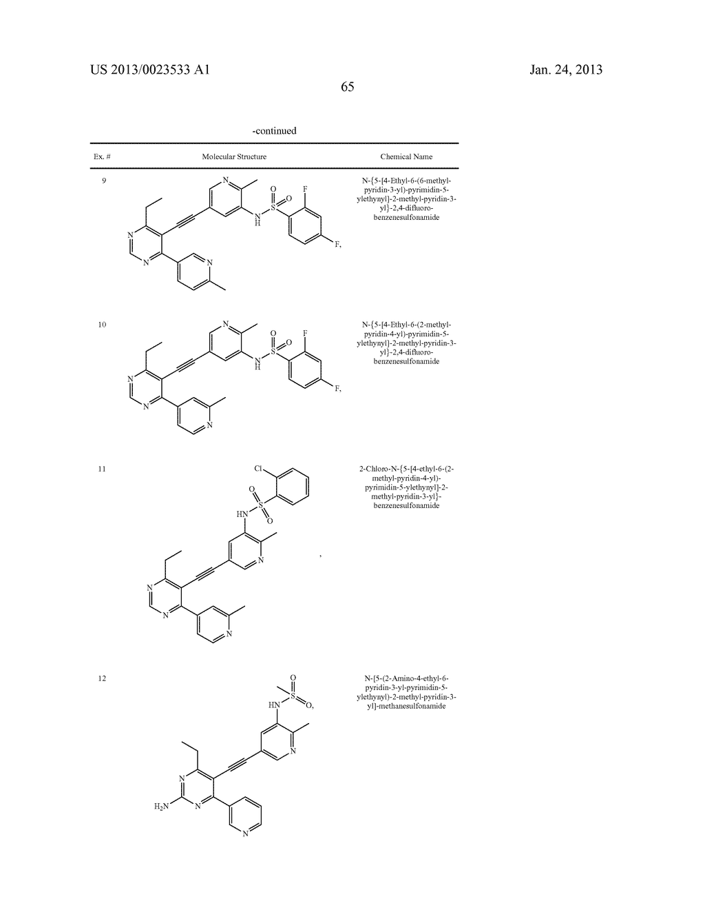 NEW 5-ALKYNYL-PYRIDINES - diagram, schematic, and image 66