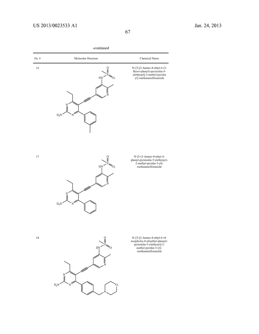 NEW 5-ALKYNYL-PYRIDINES - diagram, schematic, and image 68