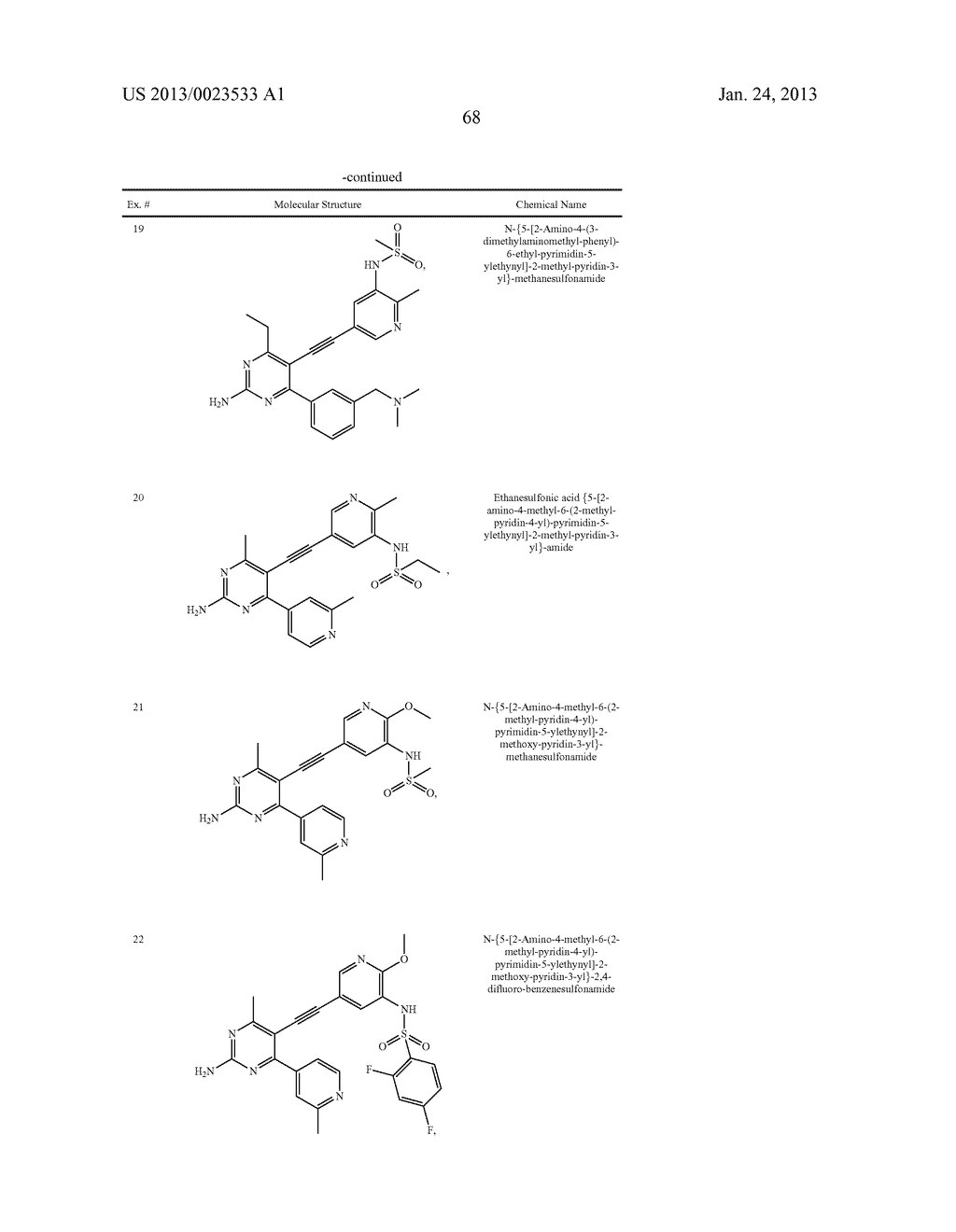 NEW 5-ALKYNYL-PYRIDINES - diagram, schematic, and image 69