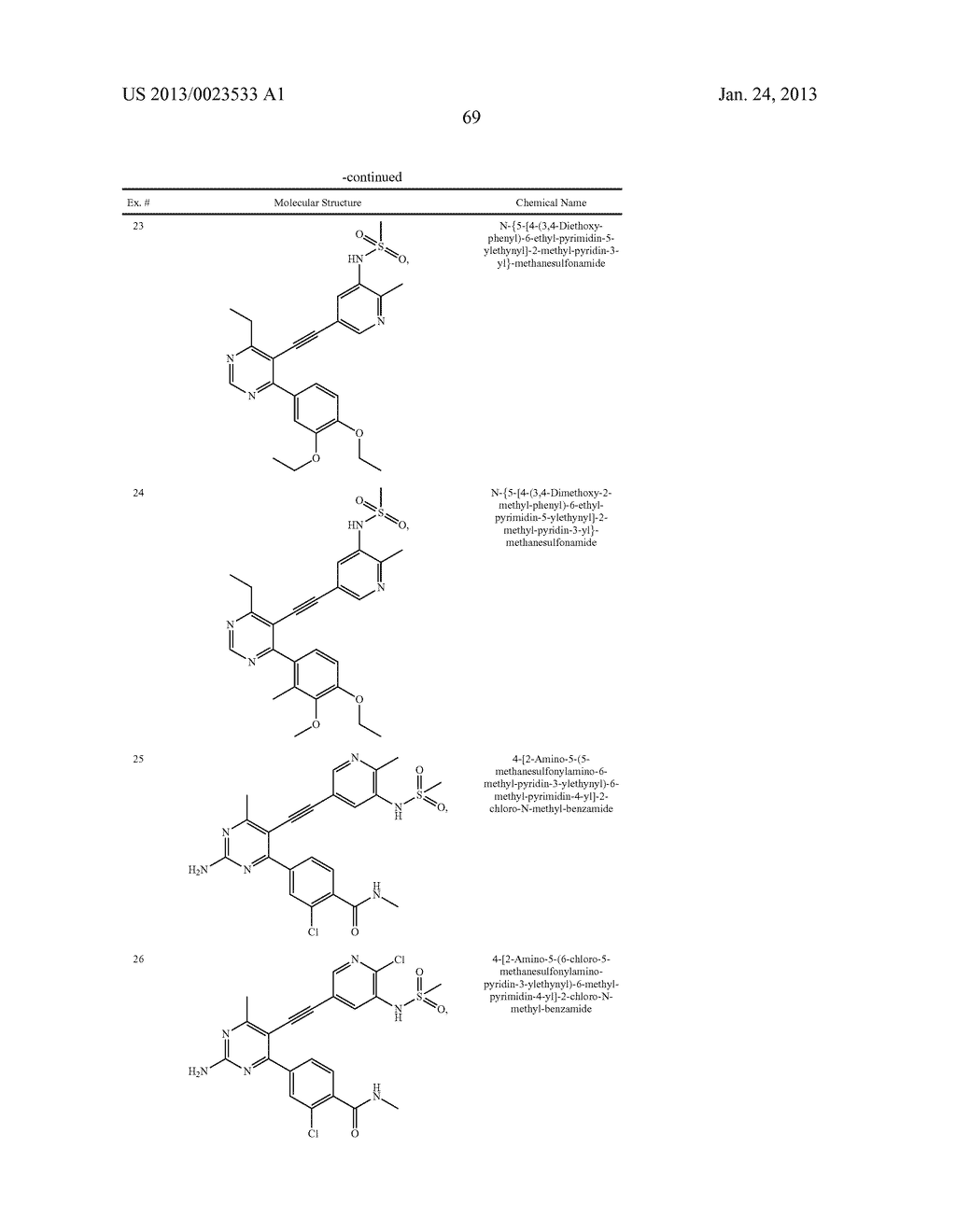 NEW 5-ALKYNYL-PYRIDINES - diagram, schematic, and image 70