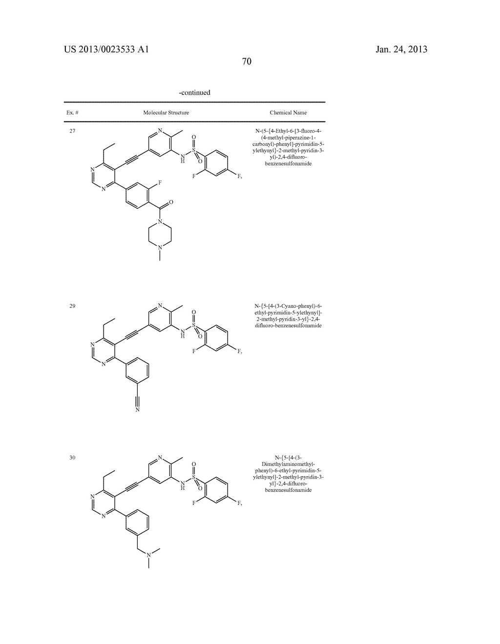 NEW 5-ALKYNYL-PYRIDINES - diagram, schematic, and image 71