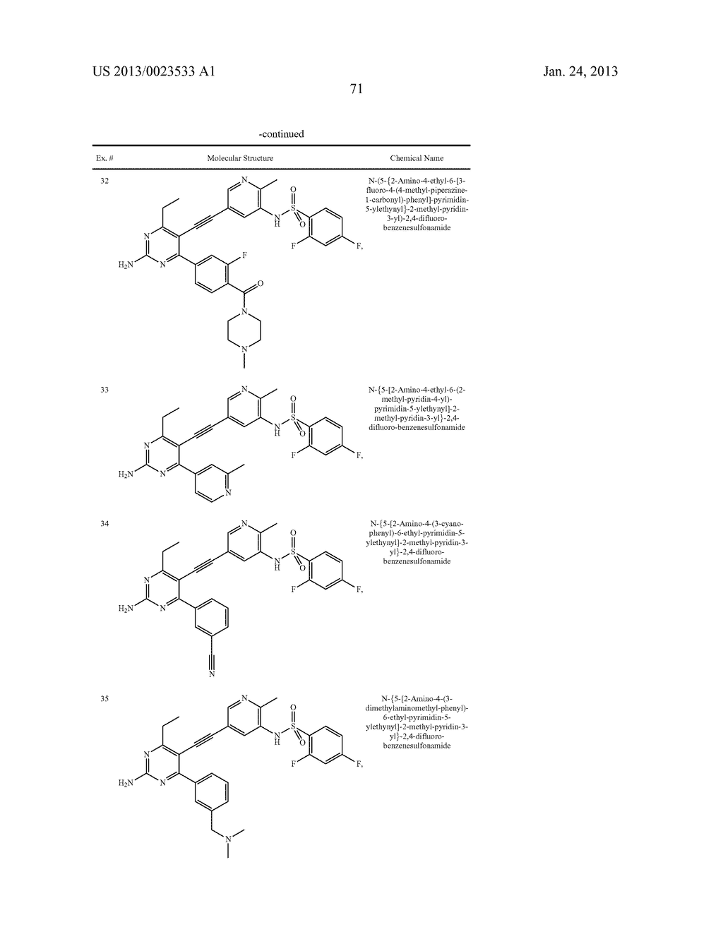 NEW 5-ALKYNYL-PYRIDINES - diagram, schematic, and image 72