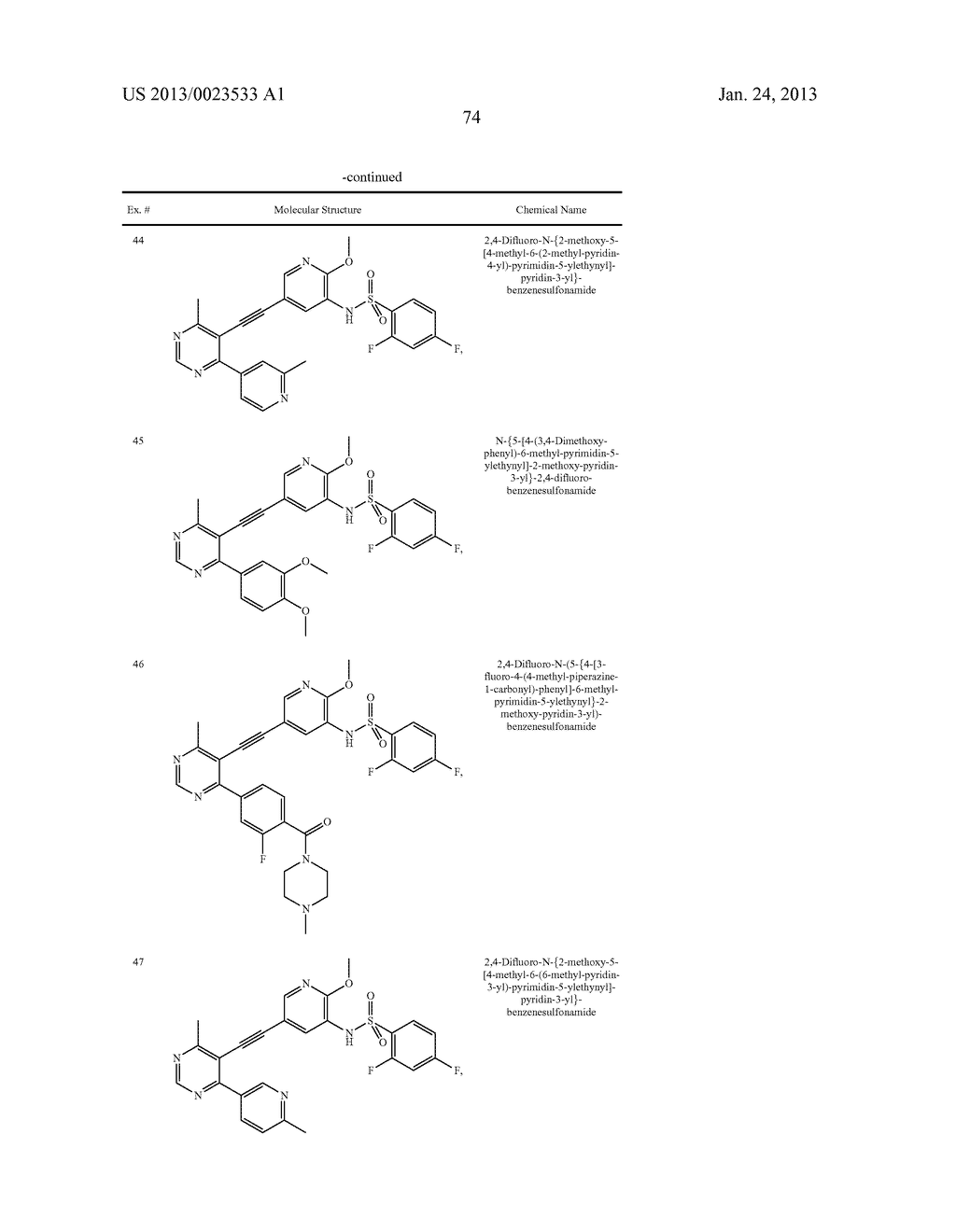 NEW 5-ALKYNYL-PYRIDINES - diagram, schematic, and image 75