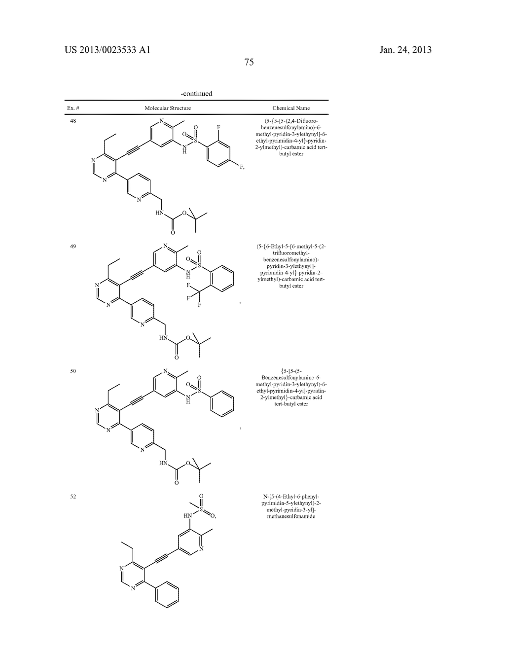 NEW 5-ALKYNYL-PYRIDINES - diagram, schematic, and image 76