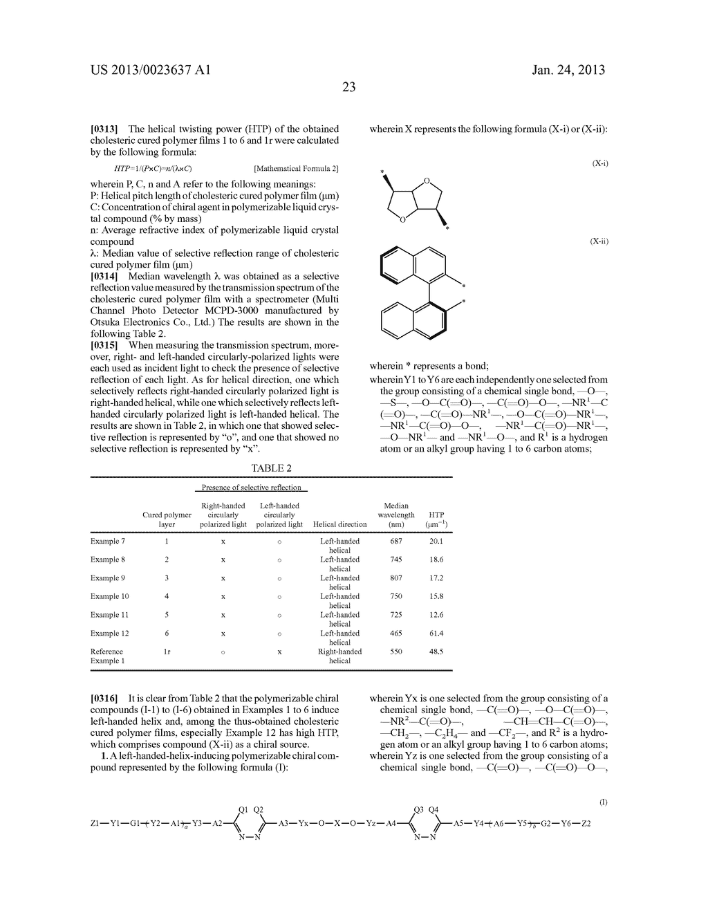 Polymerizable Chiral Compound Liquid Crystal Body Diagram Example Polymer And Optically Anisotropic Schematic