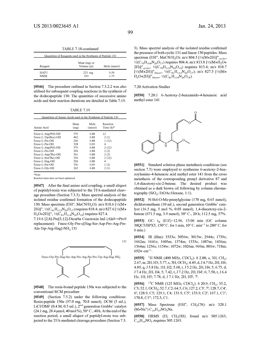METHODS FOR THE SYNTHESIS OF DICARBA BRIDGES IN ORGANIC COMPOUNDS - diagram, schematic, and image 104