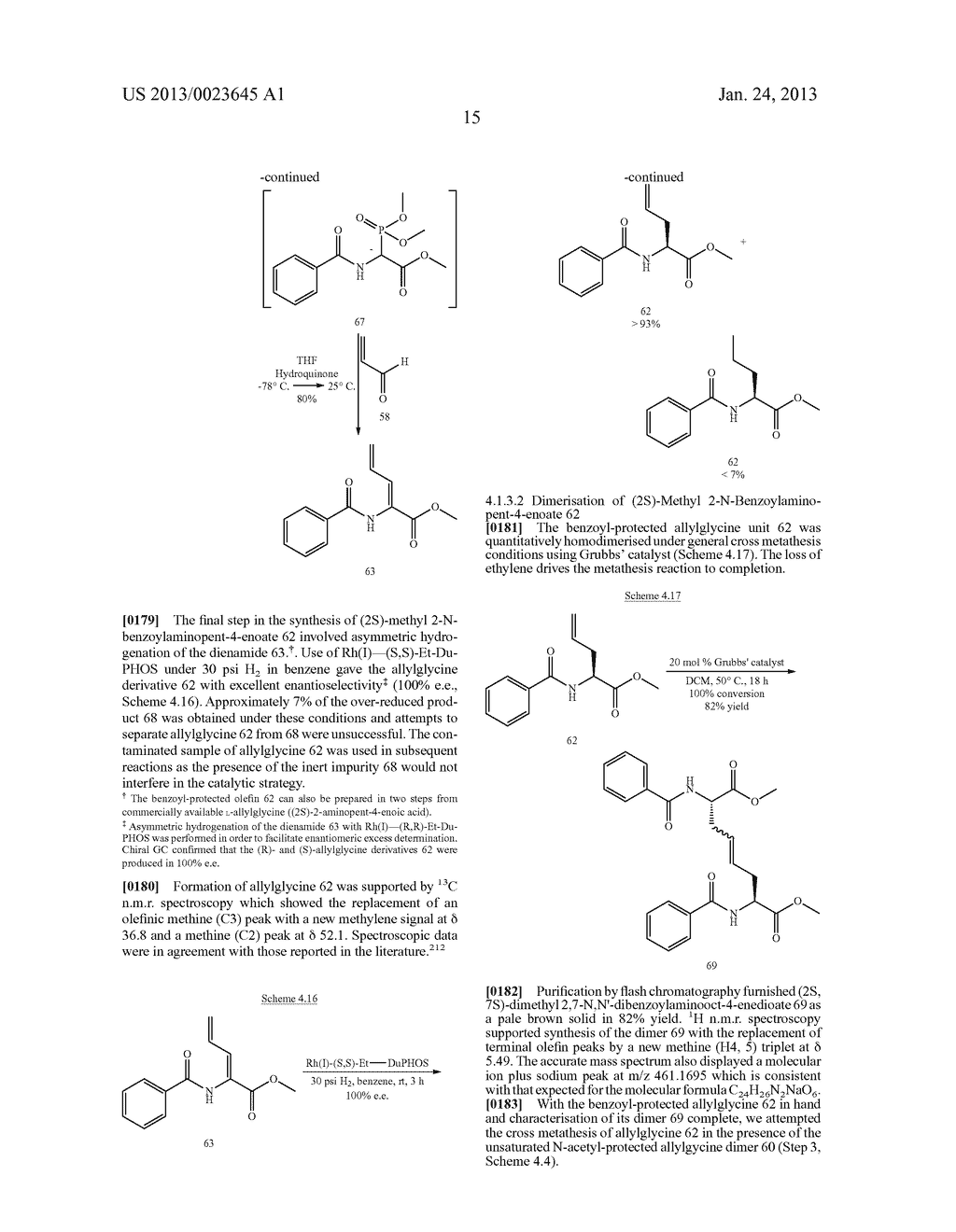 METHODS FOR THE SYNTHESIS OF DICARBA BRIDGES IN ORGANIC COMPOUNDS - diagram, schematic, and image 20